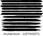grunge paint roller . vector... | Shutterstock .eps vector #1337442071