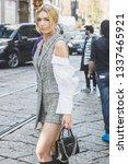 milan  italy   february 22 ... | Shutterstock . vector #1337465921