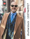 milan  italy   february 22 ... | Shutterstock . vector #1337465927