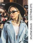 milan  italy   february 22 ... | Shutterstock . vector #1337466191