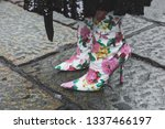milan  italy   february 22 ... | Shutterstock . vector #1337466197