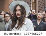 milan  italy   february 22 ... | Shutterstock . vector #1337466227