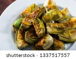 delicious oil fried cut... | Shutterstock . vector #1337517557
