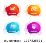 liquid badges. set of mail... | Shutterstock .eps vector #1337525831