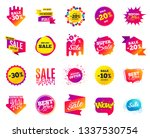 sale banner. special offer... | Shutterstock .eps vector #1337530754