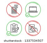 do or stop. rfp  notebook and... | Shutterstock .eps vector #1337534507