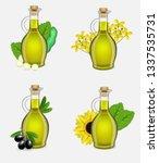 different types of vegetable... | Shutterstock .eps vector #1337535731