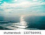 beautiful seascape view of...   Shutterstock . vector #1337564441