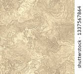 abstract dusty gold marbled... | Shutterstock . vector #1337567864