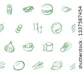 food images. background for... | Shutterstock .eps vector #1337587454