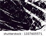 distressed background in black... | Shutterstock . vector #1337605571
