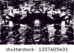 distressed background in black... | Shutterstock . vector #1337605631