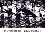 distressed background in black... | Shutterstock . vector #1337605634