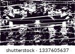 distressed background in black... | Shutterstock . vector #1337605637