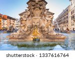 rome  italy   january 11  2019  ...   Shutterstock . vector #1337616764