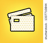 credit card sign. vector....   Shutterstock .eps vector #1337710844