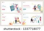 time to travel vector  people... | Shutterstock .eps vector #1337718077
