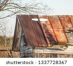 Decaying Weathered And Rusted...