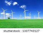 Landscape  Wind Power Plants...