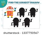 find the correct shadow for... | Shutterstock .eps vector #1337750567