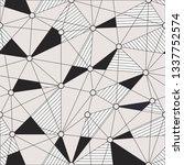 geometric endless background... | Shutterstock .eps vector #1337752574