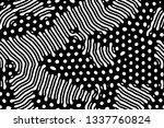 diffusion reaction vector... | Shutterstock .eps vector #1337760824