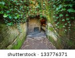 entrance to a winery  napa... | Shutterstock . vector #133776371