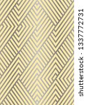 abstract geometric pattern... | Shutterstock .eps vector #1337772731