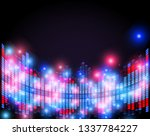 illustration of music equalizer ... | Shutterstock .eps vector #1337784227