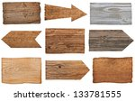 collection of various  empty... | Shutterstock . vector #133781555