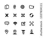 naive style web icon set. web...
