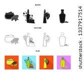 vector illustration of healthy  ... | Shutterstock .eps vector #1337917514