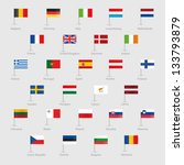 flags of eu countries | Shutterstock .eps vector #133793879