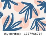 abstract pattern design with... | Shutterstock . vector #1337966714