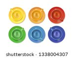 tea cups and saucers service... | Shutterstock .eps vector #1338004307