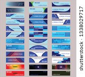 vector abstract design banner... | Shutterstock .eps vector #1338029717