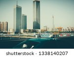 urban architecture and road... | Shutterstock . vector #1338140207