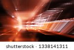 abstract red on black... | Shutterstock . vector #1338141311