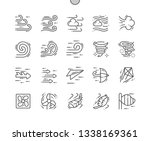 wind well crafted pixel perfect ... | Shutterstock .eps vector #1338169361