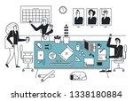 friends of the design studio....   Shutterstock .eps vector #1338180884