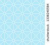 seamless pattern of squares.... | Shutterstock .eps vector #1338240584