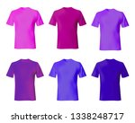t shirt design template vector. ... | Shutterstock .eps vector #1338248717