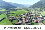 aerial picture stumm is... | Shutterstock . vector #1338268721