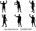 More Drinking Silhouettes