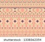 navajo american indian pattern... | Shutterstock .eps vector #1338362354