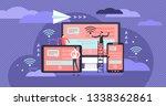 cross platform vector... | Shutterstock .eps vector #1338362861
