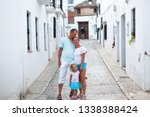 family vacation in europe....   Shutterstock . vector #1338388424
