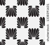 vector seamless pattern.... | Shutterstock .eps vector #1338391631