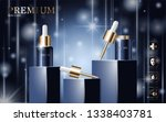 hydrating facial serum for...   Shutterstock .eps vector #1338403781