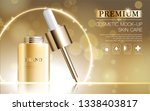 hydrating facial serum for...   Shutterstock .eps vector #1338403817
